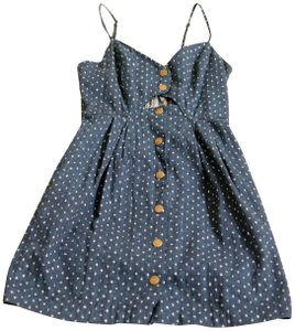 COPE short dress Blue on Tradesy
