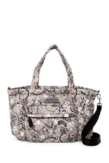 Item - Quilted Paisley Multicolor Nylon Diaper Bag