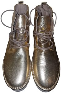 Marsèll Leather Gold metallic Boots