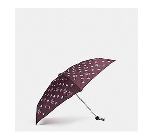 Coach COACH Umbrella WILD FLOWER oxblood F21799