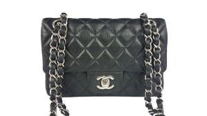 Chanel Mini Classic Caviar Cross Body Bag