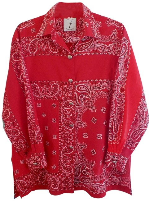 Item - Times 7 Collection Blouse Size 12 (L)