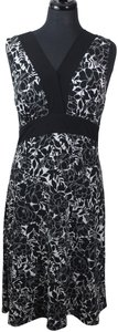 Connected Apparel short dress Black, White on Tradesy