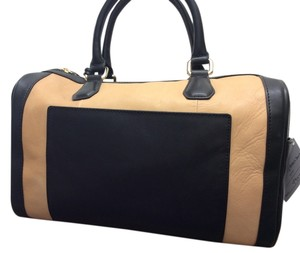 Rovimoss Satchel in Tan/Black
