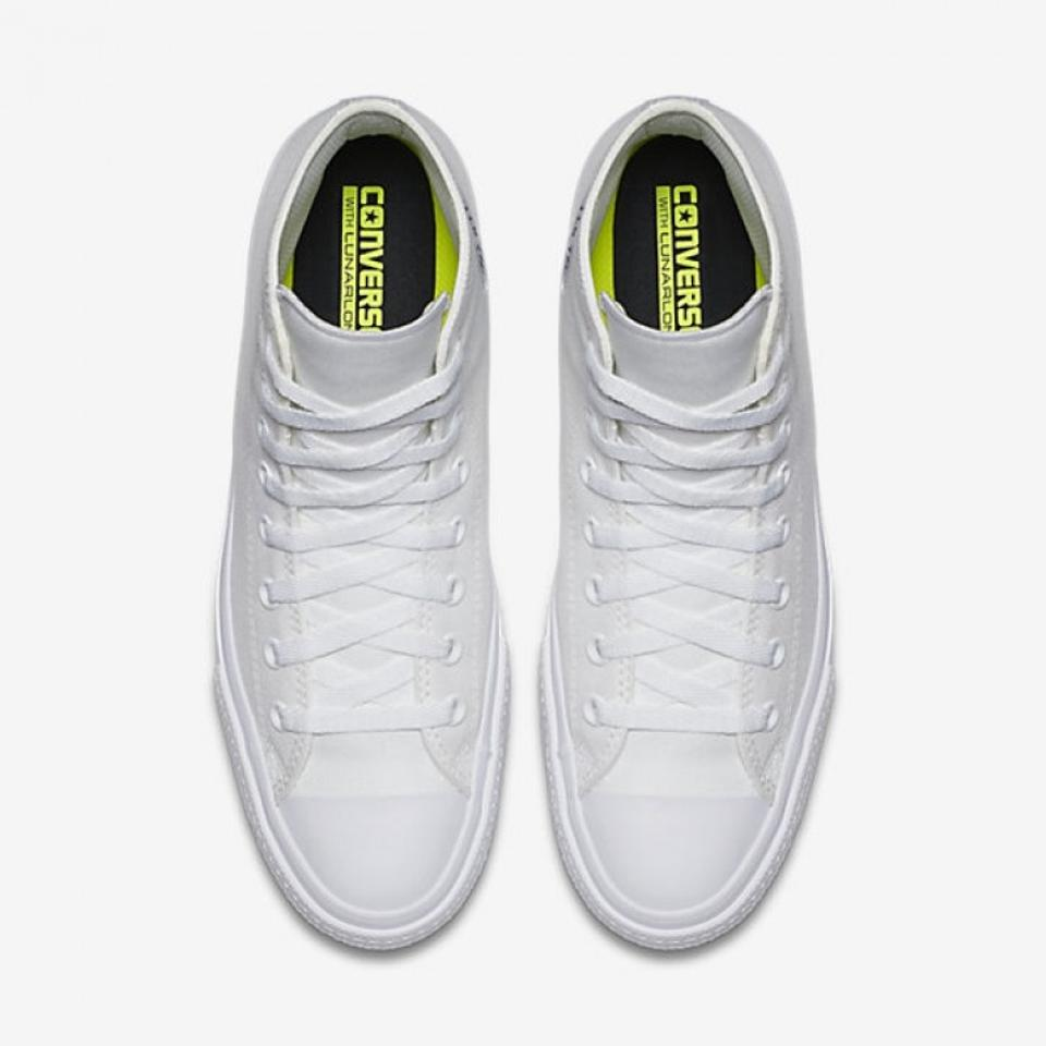 promo code 10d45 c3543 Converse White W Chuck Taylor All Star High Tops Optical W/ Nike Lunar  Insoles Sneakers Size US 6.5 Regular (M, B) 21% off retail