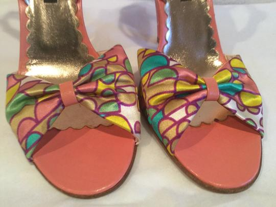 Marc Jacobs Made Italy Multi colors Sandals