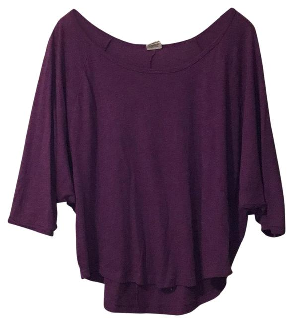 PINK Purple Wide-armed Blouse Size 2 (XS) PINK Purple Wide-armed Blouse Size 2 (XS) Image 1