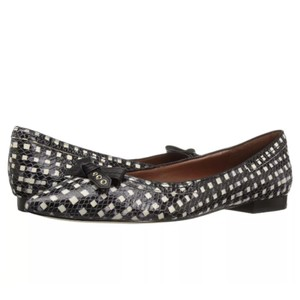 Cole Haan Black White Checkered Flats