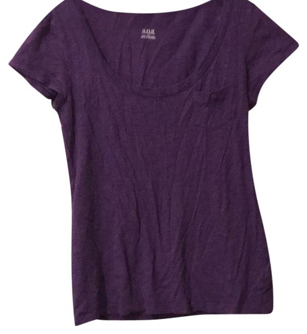 Item - Purple Pocketed Tee Shirt Size 12 (L)