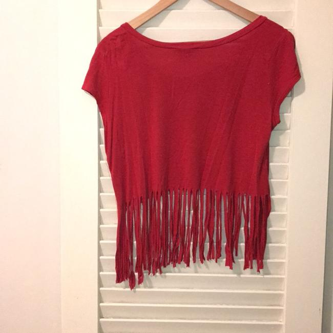 Charlotte Russe T Shirt red Image 4