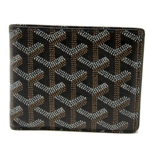 Goyard Signature Prince Royalty Saint Richelieu Chevron Coated Luxury Bifold