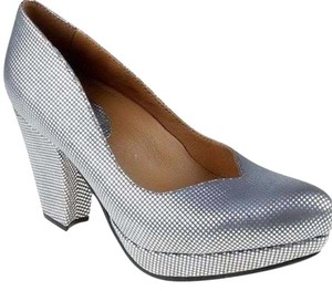 Earthies silver Platforms