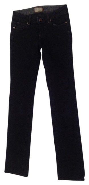 Preload https://item4.tradesy.com/images/paige-black-dark-rinse-melrose-embroidered-pockets-straight-leg-jeans-size-25-2-xs-2245058-0-0.jpg?width=400&height=650