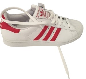 adidas Gifts For Men Shell Toe Gift Ideas Run Dmc Basketball white/red Athletic