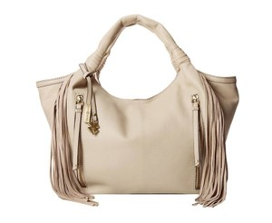 Lucky Brand Work Hobo Soft Leather Tote in Sand, natural