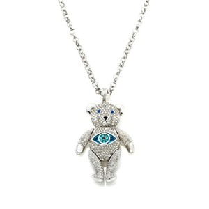 Real Collectibles by Adrienne Real Collectibles by Adrienne® Jeweled Movable Pavé Bear Pendant with