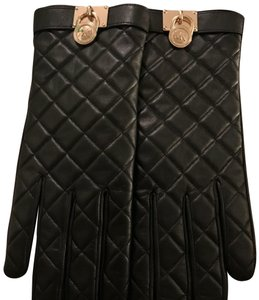 MICHAEL Michael Kors Black leather