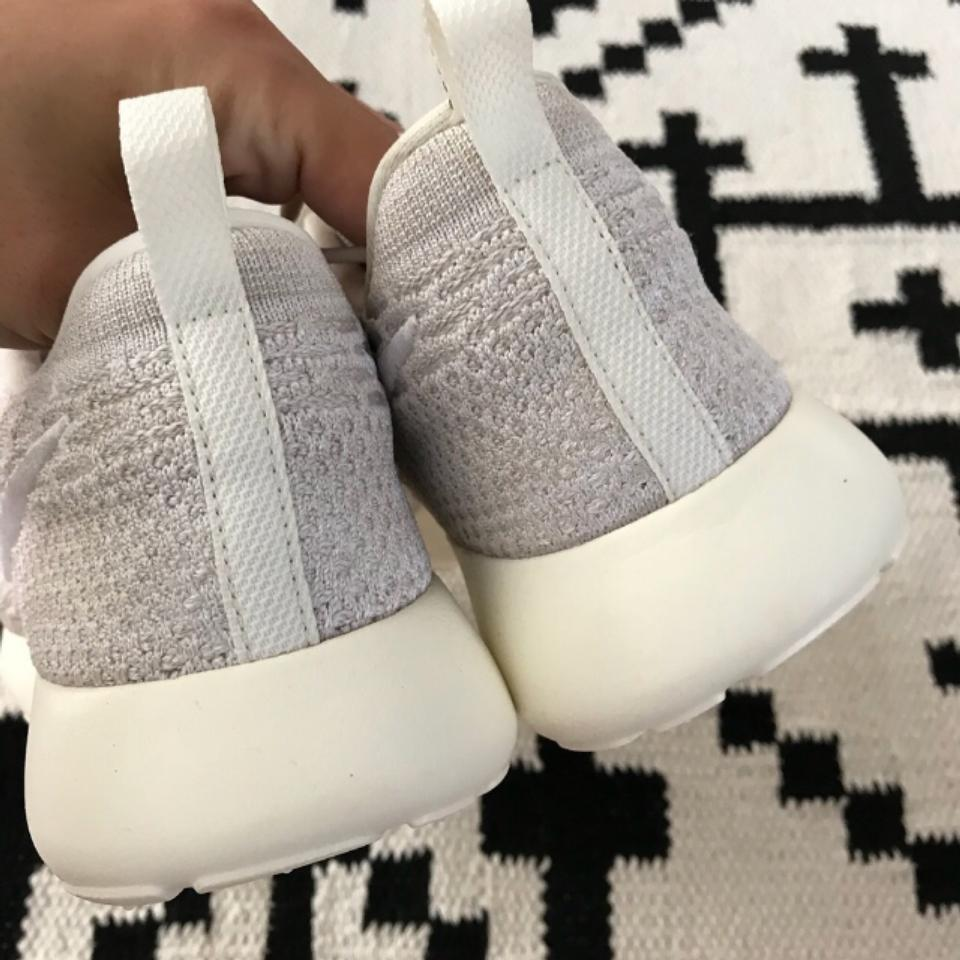 size 40 41568 df6f5 Nike Women s Roshe Run Flyknit Sail White Sneakers. Flyknit Material Enable  The Roshe To Become More Comfortable And Sneakers Size US 10 Narrow (Aa, ...