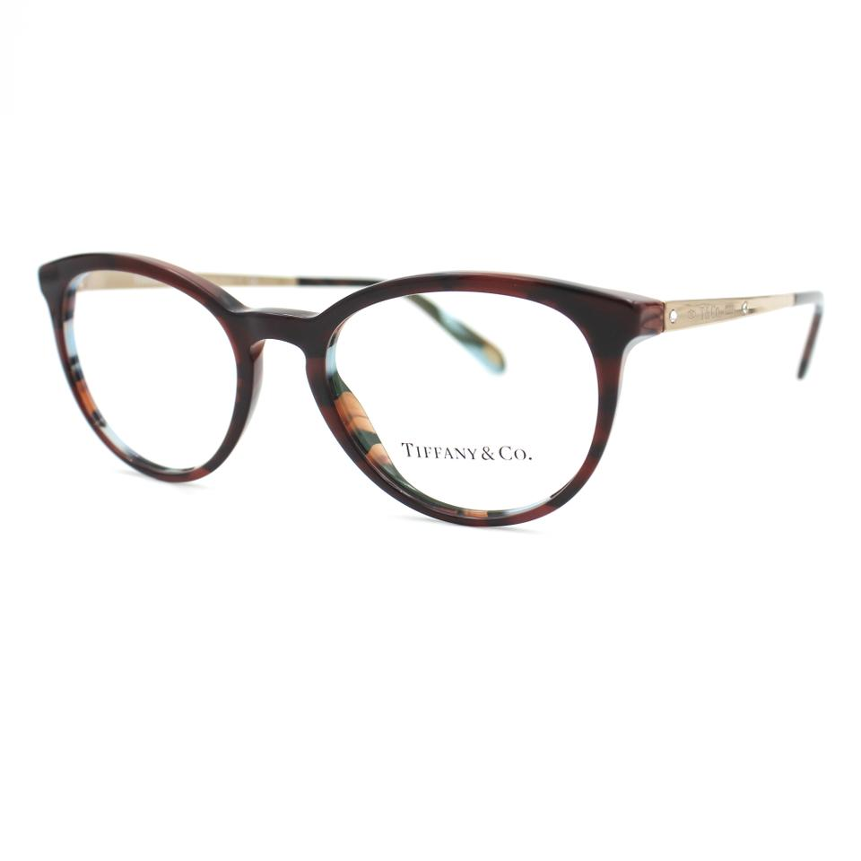 Tiffany & Co. Havana and Gold Blue Frame 2128b 8207 Sunglasses - Tradesy