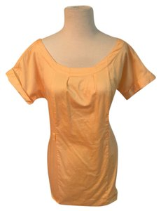 Merona short dress Sherbet Shift on Tradesy
