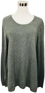 H&M Large Elbow Patches Preppy Sweater