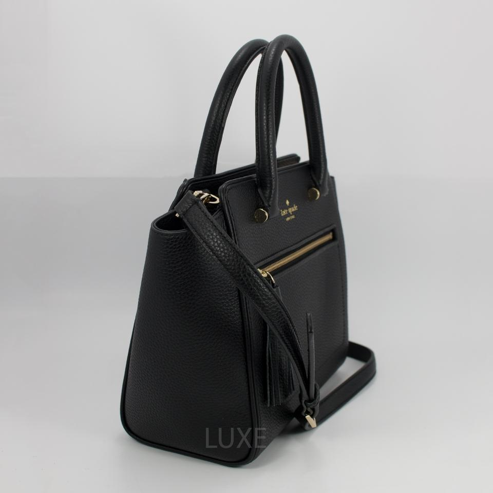 5141c1292a2a Kate Spade Crossbody Small Allyn Chester Street 098687021609 Satchel in  Black Image 6. 1234567
