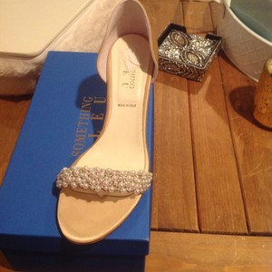 Something Bleu Bridal Champagne Show Pumps Size Us 8 5 Regular M B