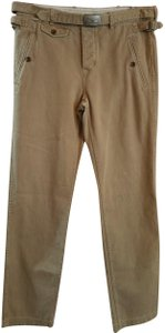 Ralph Lauren Nwot 4 Small Cotton Khaki/Chino Pants Brown