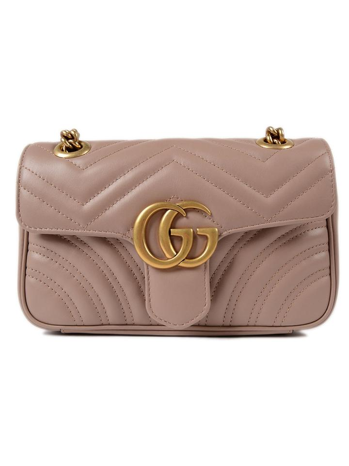 a6163f099cf9 Gucci Gg Marmont Matelasse Marmont Marmont Gg Marmont Cross Body Bag Image  0 ...