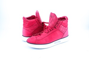 Louis Vuitton Red * Streetlight Sneaker Boots Shoes