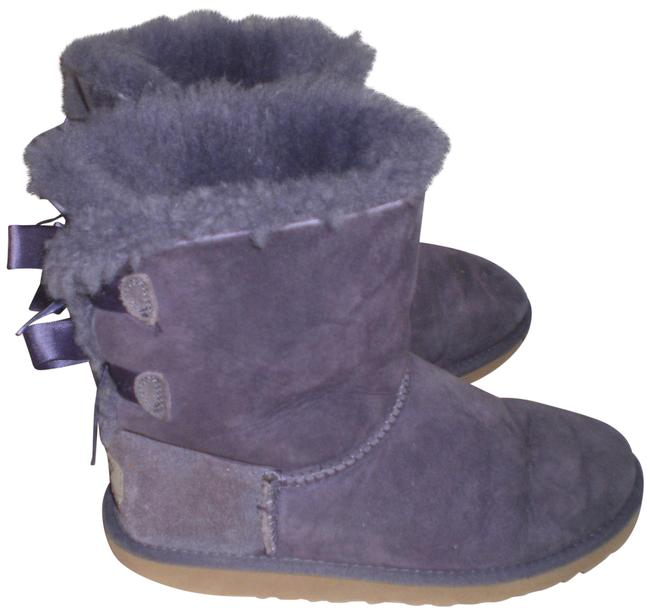 Item - Purple Bailey Bow Boots/Booties Size US 6 Regular (M, B)
