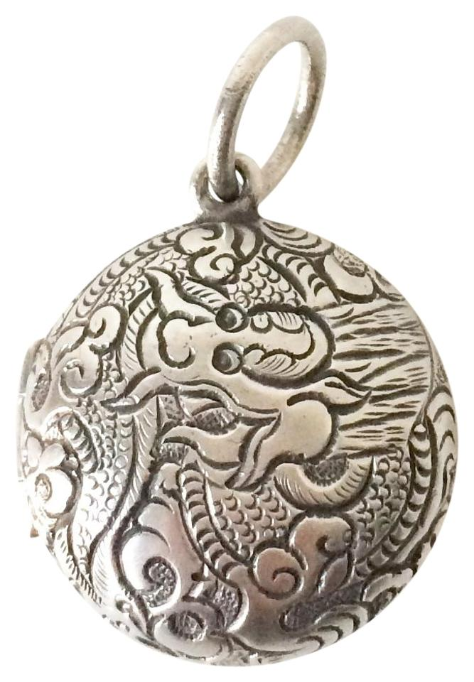 Silpada sterling silver etched dragon locket charm tradesy silpada silpada sterling silver etched dragon locket aloadofball Images
