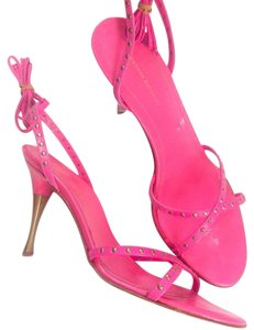 Banana Republic Pink and bronze Sandals