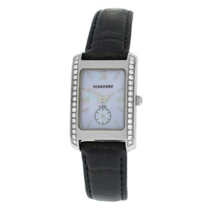 Tourneau Authentic Ladies Tourneau 1064 Diamond MOP Steel Quartz 20MM