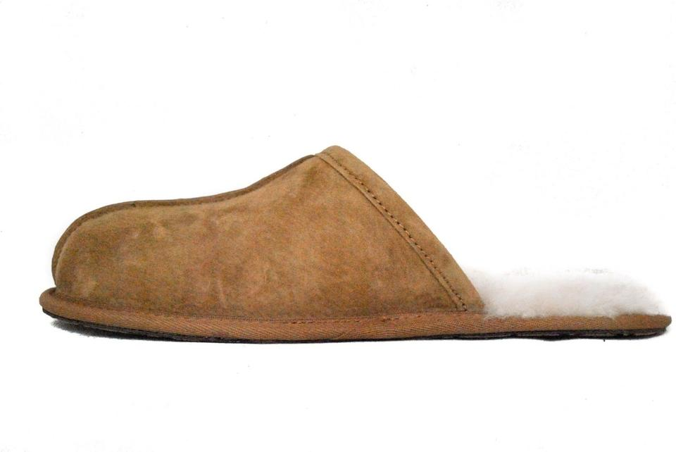 bc91dfe30501 UGG Australia Chestnut Men s Scuff Slippers Suede 5776 Boots Booties ...