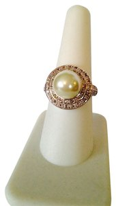 Other NWOT Pearl & Cubic Zirconia Ring, Size 7