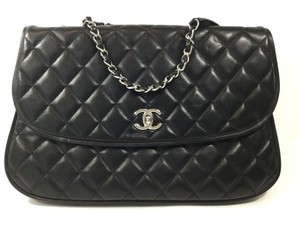 Chanel Classic Equestrian Single Flap Shoulder Bag