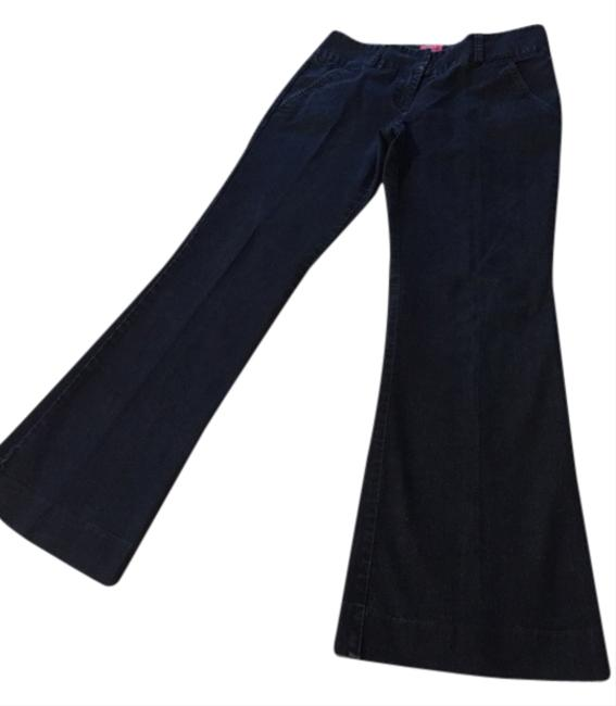 The Limited Boot Cut Pants Dark Indigo