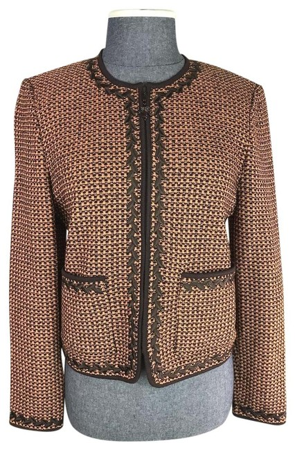 Item - Brown/Orange Collection By Marie Gray Jacket Size 2 (XS)