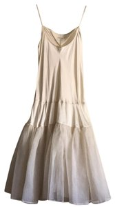 Gary Graham short dress beige on Tradesy