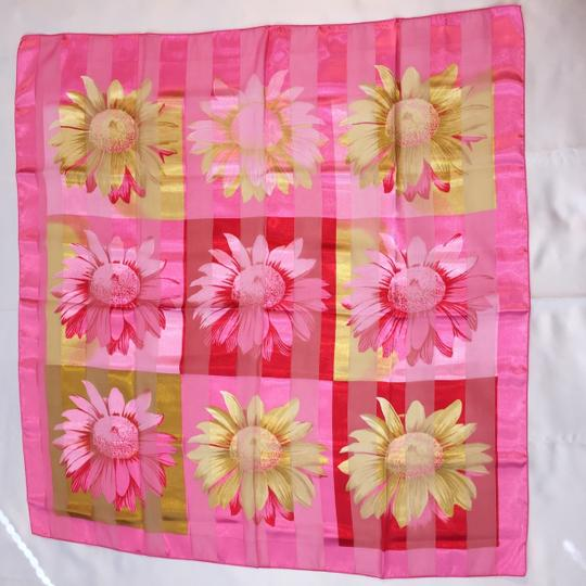 "Other ""Daisies Pink"" Scarf [ Roxanne Anjou Closet ]"