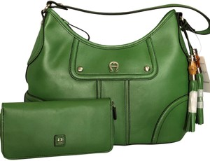 Green Etienne Aigner Bags - Up to 90% off at Tradesy 1e5849a793883