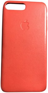 Apple iPhone 7plus or 8 plus Product Red Leather Case
