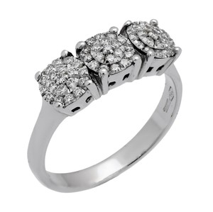 Chimento Chimento Past Present Future Round Diamond Ring - Opulent Jewelers