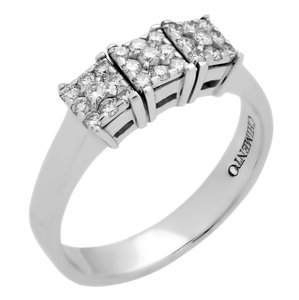 Chimento Chimento Past Present Future Diamond Ring - Opulent Jewelers