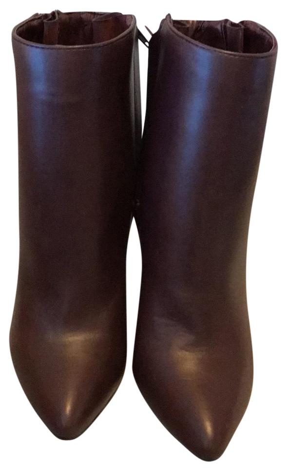 f4d16be123e JustFab Dark Brown Boots Booties Size US 7.5 Regular (M