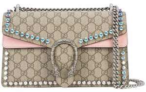 Gucci Dionysus Crystal Rhinestone Shoulder Bag
