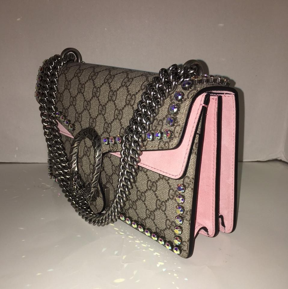 0ce544795cd Gucci Dionysus Crystal Rhinestone Shoulder Bag Image 10. 1234567891011