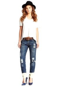 Etienne Marcel Relaxed Fit Jeans-Distressed