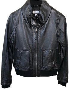 Barneys New York Leather Jacket
